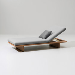 Mesh deckchair | Liegestühle | KETTAL