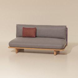 Mesh central module | Garden sofas | KETTAL
