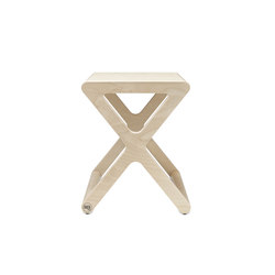 X stool - natural   Stools   RAFA kids