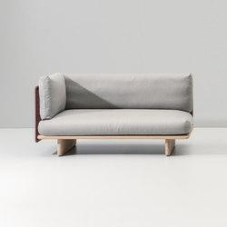 Mesh left corner module end | Garden sofas | KETTAL