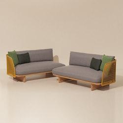 Mesh corner module end | Garden sofas | KETTAL
