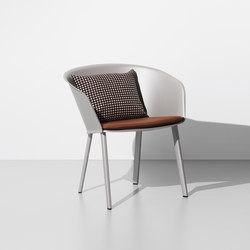 Stampa club solid | Garden chairs | KETTAL