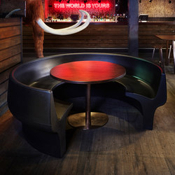 Cup | Mensa modular seating systems | Derlot Editions