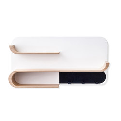 M shelf - natural, black metal | Wandregale / Ablagen | RAFA kids