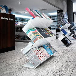 Flatliner Freestand | Brochure / Magazine display stands | Derlot Editions
