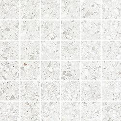 Marvel Gems white mosaico | Ceramic slabs | Atlas Concorde