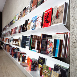 Flatliner Wall | Brochure / Magazine display stands | Derlot Editions