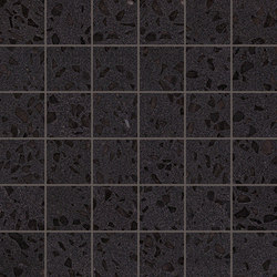 Marvel Gems black mosaico | Ceramic panels | Atlas Concorde