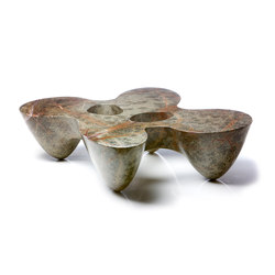 Quark | marble | 4E | Lounge tables | Emmanuel Babled