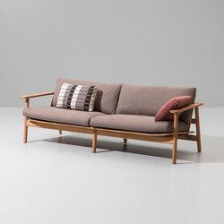 Riva 3-seater sofa | Sofás de jardín | KETTAL