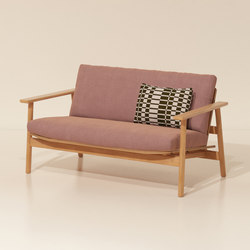 Riva 2-seater sofa | Gartensofas | KETTAL