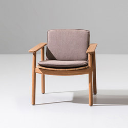 Riva low club armchair | Gartensessel | KETTAL