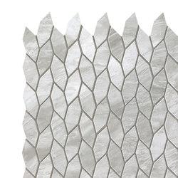 Marvel Stone mosaico twist grigio bardiglio | Baldosas de cerámica | Atlas Concorde