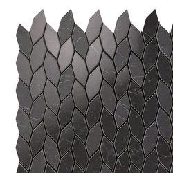 Marvel Stone mosaico twist nero marquina | Piastrelle ceramica | Atlas Concorde
