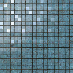 Marvel Gems terrazzo blue mosaico | Ceramic slabs | Atlas Concorde