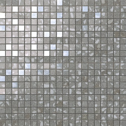 Marvel Gems terrazzo grey mosaico | Ceramic panels | Atlas Concorde