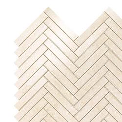 Marvel Stone mos herring bone creme prestige | Ceramic tiles | Atlas Concorde