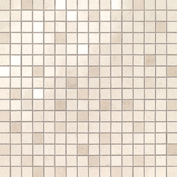 Marvel Stone mosaico creme prestige | Ceramic panels | Atlas Concorde