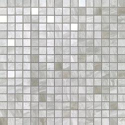 Marvel Stone mosaico grigio bardiglio | Ceramic panels | Atlas Concorde