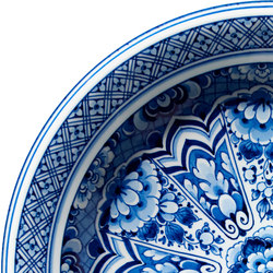 Delft Blue | Plate rug | Rugs | moooi carpets