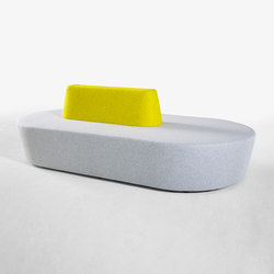 Pill | Waiting area benches | Derlot Editions