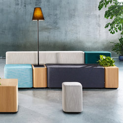 Tetromino | Seating islands | Derlot Editions