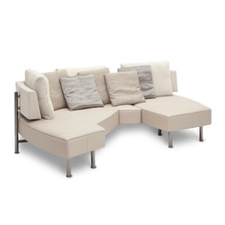 Wing Open Base Double Lounge | Sofás | Jori