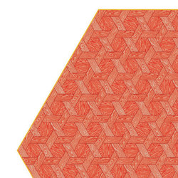 Hexagon | red rug | Rugs | moooi carpets