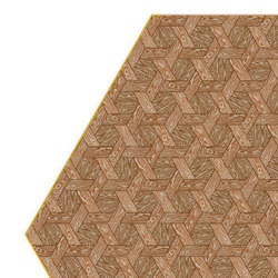 Hexagon | brown rug | Rugs | moooi carpets