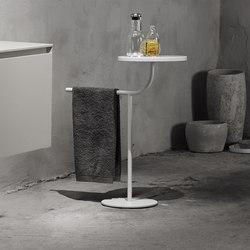 Bivio Freestanding Towel Rack With Tray | Estanterías toallas | Inbani