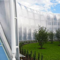 Textile Facade | Textile / Membrane facade systems | Koch Membranen