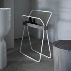 Origin Free Standing Towel Rack With Tray | Estanterías toallas | Inbani
