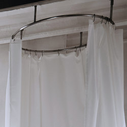 Origin Curtain System Round | Shower curtain rails | Inbani