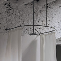 Origin Curtain System U-Form | Shower curtain rails | Inbani