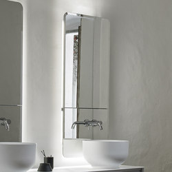 Origin Recessed Dressing Mirror | Mirror lighting | Inbani