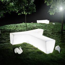 Twig | Exterior benches | Derlot Editions
