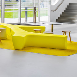 Twig | Waiting area benches | Derlot Editions