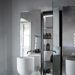 Origin Recessed Dressing Mirror | Éclairage de miroirs | Inbani