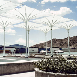 Funnel Umbrella | Textile buildings | Koch Membranen