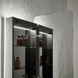Origin Wall Mounted Dressing Mirror | Armadietti specchio | Inbani
