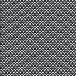 skai Techno Tec schwarz-silber | Finta pelle | Hornschuch