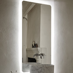 Origin Wall Mounted Lighting Mirror | Wandspiegel | Inbani