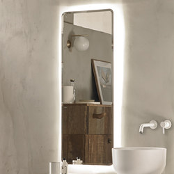 Origin Wall Mounted Lighting Mirror | Specchi | Inbani
