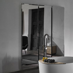 Origin Wall Mounted Simple Mirror | Miroirs | Inbani