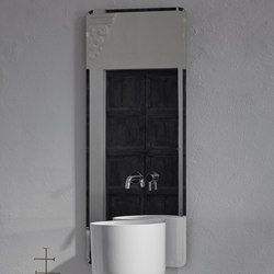 Origin Wall Mounted Simple Mirror | Specchi da parete | Inbani