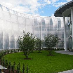 Transpartent Constructions | Textile / Membrane facade systems | Koch Membranen