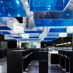 Ceiling Elements | Exhibition systems | Koch Membranen