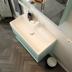 Labo Top Mounted Solidsurface Washbasin | Lavabos | Inbani