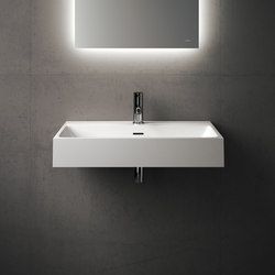 Labo Wall Mounted Solidsurface Washbasin | Lavabos | Inbani