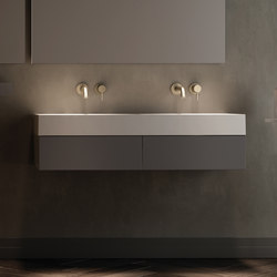 Labo Top Mounted Solidsurface Washbasin | Wash basins | Inbani